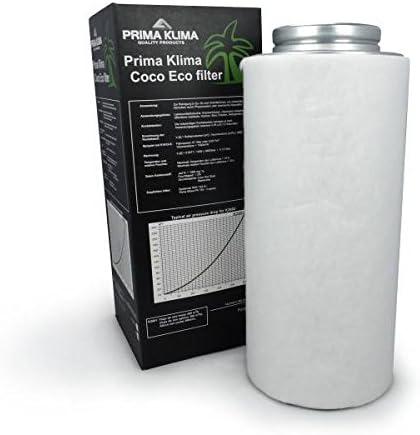 max 240m3//h Prima Klima Filtro a Carboni Attivi ECO line /Ã/˜10cm
