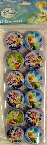 Tinker Bell and the Disney Fairies Pencil Sharpeners / Favors (12ct)