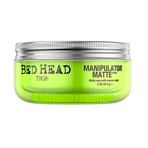 TIGI Bed Head Manipulator Matte Gel for Unisex - Maximum Long Lasting Hold, Creates Texture, Controls Frizz & Flyaways, Humiditiy Resistant, 2 oz (Pack of1 )