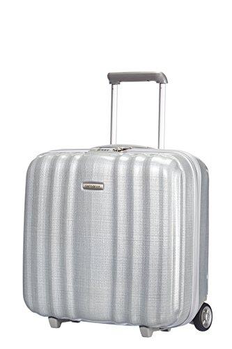 Samsonite LITE-CUBE ROLLING TOTE Laptop Rollkoffer, 28.5 Liter, Silber