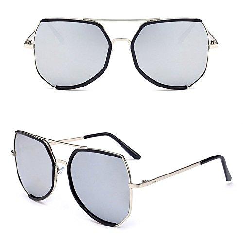 de Sol Las al Gafas Sol Hombres de Los 3 Mujeres Libre de Aire Ruikey Para y Gafas Metálicas de Manera Sol la Gafas PwCfqR7