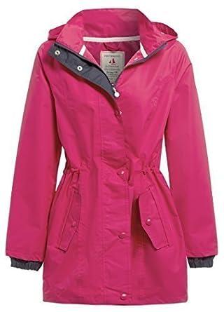 NEW SS7 Women's Waterproof Raincoat, Navy, Cerise, Sizes 18 to 24