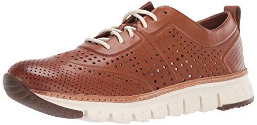 - Cole Haan Men's Zerogrand Laser Perforated Sneaker, British Tan, 9 M US