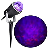 Gemmy Fire and Ice Lightshow Projection Purple / Orange Spotlight