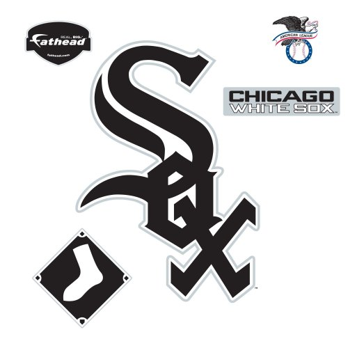 Fathead Chicago White Sox Logo Wall Decal