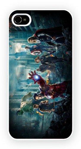 The Avengers 2012 Superheroes, iPhone 5 5S, Etui de téléphone mobile - encre brillant impression