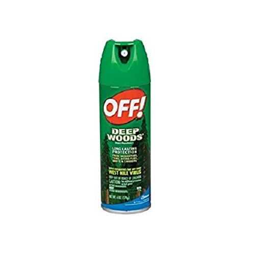 OFF! Deep Woods Insect Repellent V 25% DEET 6 oz. (Pack of 3)