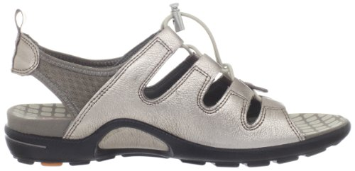 Sandal ECCO Warm Toggle Warm Grey Women's Jab Metallic Grey Cq7tPqR