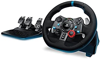 Logitech G29 Driving Force Racing Wheel for PS4 and PS3 or