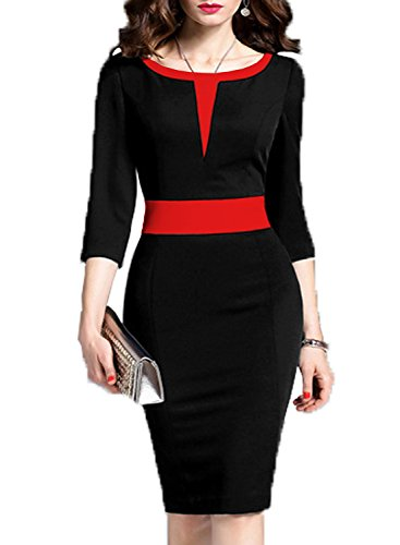 Red Black Dress - 1