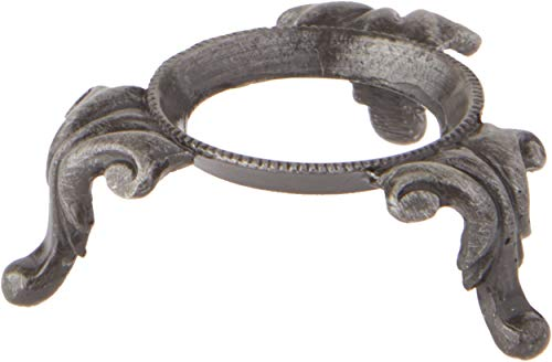 Bard's Pewter Toned Egg Stand/Holder - Princess Ann, 0.875