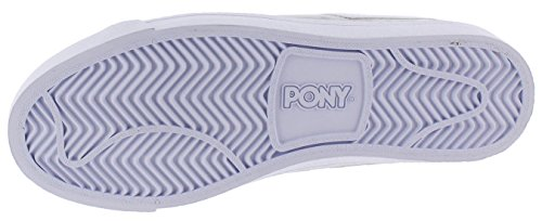 Pony Top Stjerne Herre Retro Mode Domstol Sneakers Sko Grå vPbY5wi