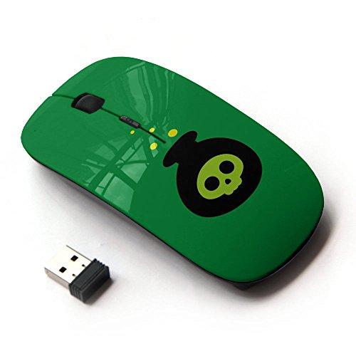 KawaiiMouse [ Optical 2.4G Wireless Mouse ] Poison Bomb Cartoon Halloween -