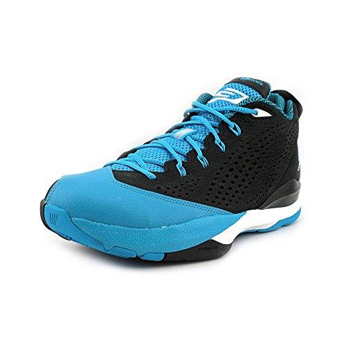 Jordan Cp3. VII Mens Black Leather Sneakers Shoes-black/blue-11.5