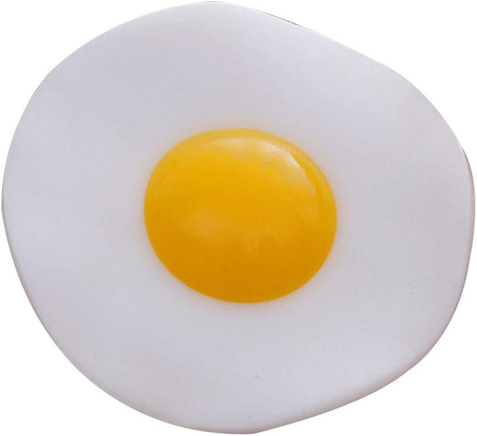 10pcs Cute Egg Slow Rising Toys Antistress Smooshy Decor Food Simulation Poached Egg Squeeze Prank Funny