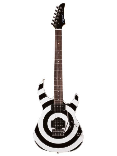 Cruzer cj450 guitarra eléctrica - negro/blanco círculos: Amazon.es: Instrumentos musicales