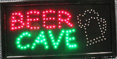 Man Cave Led Sign : Led sign for bedroom neon bar light home shop comic sonic