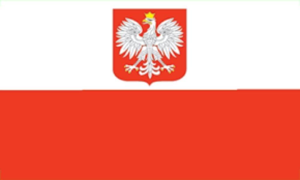 5 ' x8 ' PolandポーランドEagle Polska Flag 5 X 8足フラグバナーLarge B01N2MZ7AI