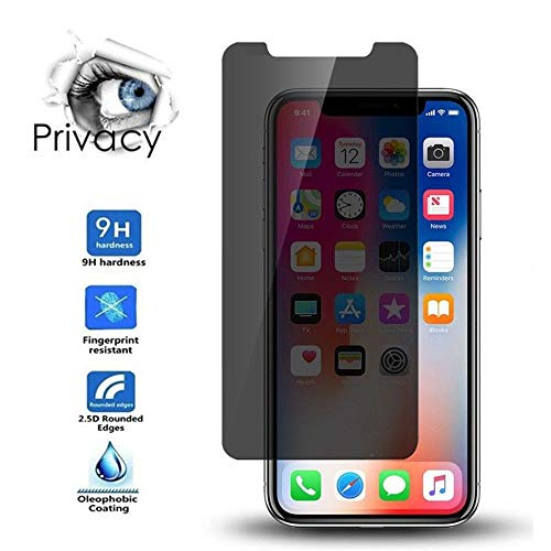 Price comparison product image Lovewe Apple iPhone Privacy Anti-Spy HD Film,  1Pcs / 2Pcs / 3Pcs Tempered Glass Screen Protector For iPhone XS / iPhone xs max / iPhone XR 6.1'',  5.8'',  6.5'' Inch (Xr 6.1inch,  2Pcs)
