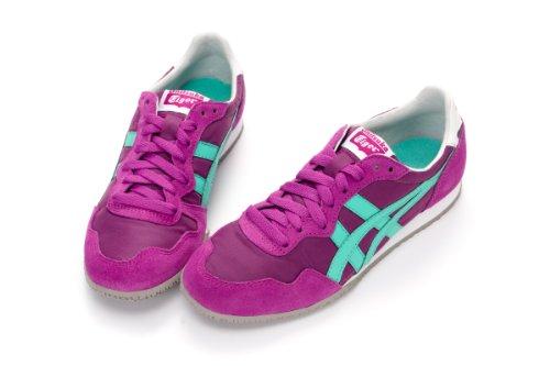 asics onitsuka tiger serrano casual shoes th109l-3488 purple-aqua
