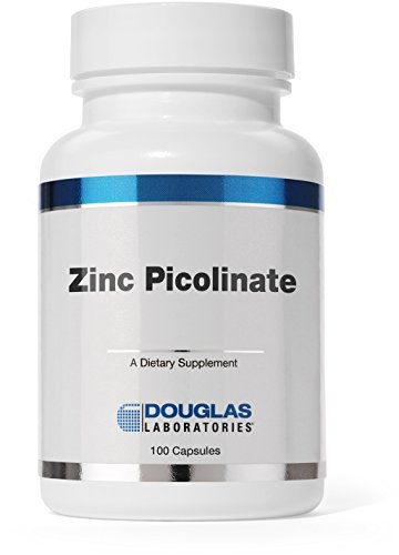 Douglas Laboratories® - Zinc Picolinate (Capsules) - 50 mg. of Zinc from Zinc Picolinate Complex - 100 Capsules