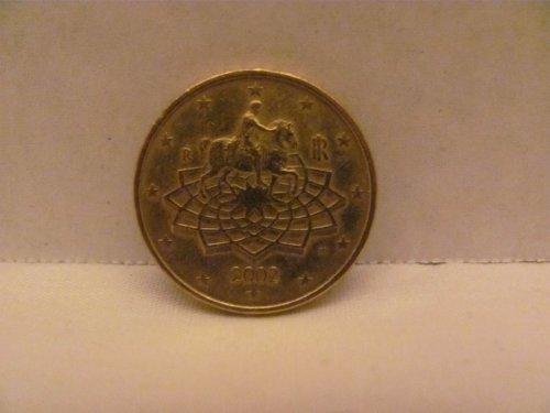 - 2002 Italy 50 Euro Cents Coin