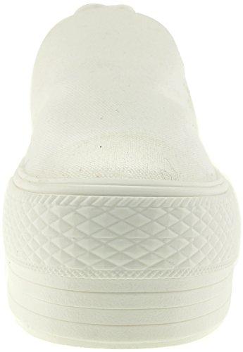 Zapatillas deportivas Zapatillas Canvas Low C50 Top sin Maxstar Blanco Spandex cordones wSPXqnz