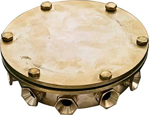 Junction Underwater Box (DABMAR LIGHTING UWB-10 Underwater Junction Box, Brass)