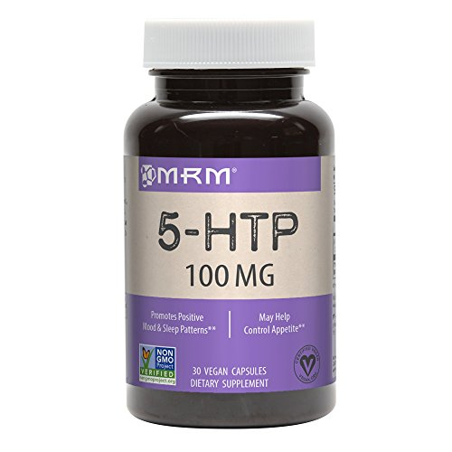- MRM 5 HTP Capsules, 100 mg, 30 Count Bottle