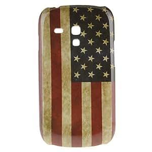 ZCL-Estilo Retro EE.UU. Bandera Nacional Patrón Hard Case for Samsung Galaxy S3 Mini I8190