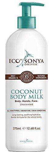 Eco Tan – Organic Coconut Body Milk Tan Extending, 12.68 fl oz 375 ml