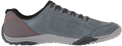 Merrell Mens Parkway Emboss Lace Full Grain Leather Running Shoes Castlerock