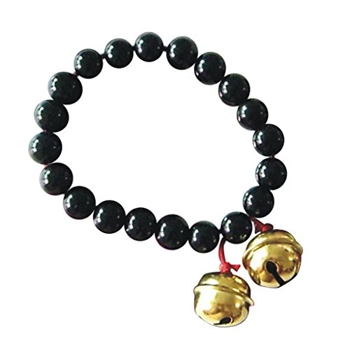 Hell Girl Cosplay Costume (SDWKIT Jigoku Shojo / Hell Girl Cosplay Accessory Enma Ai Black Crystal Bracelet)