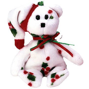 Image Unavailable. Image not available for. Color  Ty Jingle Beanies - 1998 Holiday  Teddy dc16fb23ff49