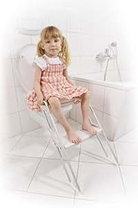 Reer 4809 - Asiento reductor para WC con escalón reposapiés