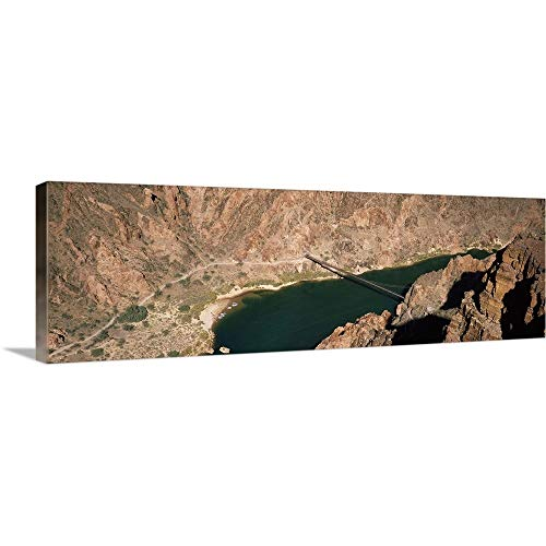 - GREATBIGCANVAS Gallery-Wrapped Canvas Entitled Suspension Bridge Across a River, South Kaibab Trail, Colorado River, Grand Canyon National Park, Arizona, by 48