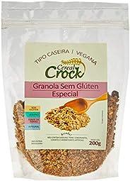 Granola sem Glúten Especial com Aveia sem Glúten Cereal Crock 200g