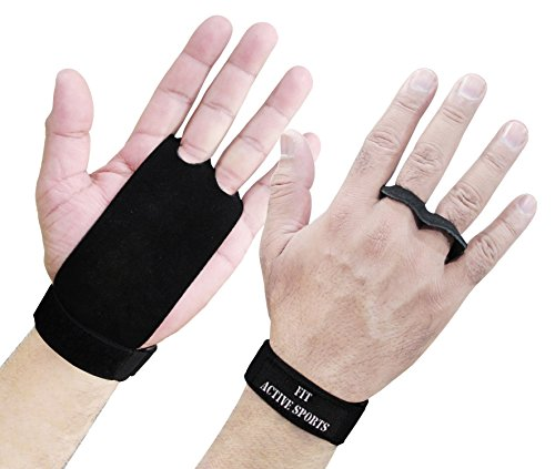 Best Gymnastics Grips for Maximum Hand Protection. Less Rips, Weight Lifting Gloves Alternative. Great for Pull Ups, Muscle Ups, Toes to Bar, Kettle Bell Swings, Crossfit,Weightlifting, and More