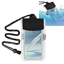 "Everydaysource For Huawei Google Nexus 6P; LG Google Nexus 5X, LG G5; Samsung Galaxy On5/ Note 4 / S5 / SV / Apple iPhone 7/ 7 Plus/ 6S/ 6S Plus Clear [inner 3.94x6.3]"" Waterproof Bag Case"