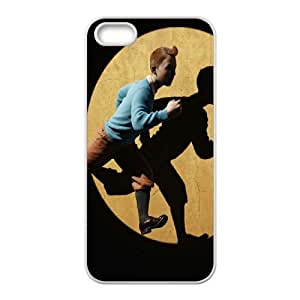 The Adventures of Tintin iPhone 4 4s Cell Phone Case White athl