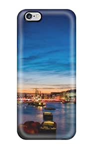 New London Multi Monitor Tpu Case Cover, Anti-scratch CVpBxZe948Xrkzo Phone Case For Iphone 6 Plus