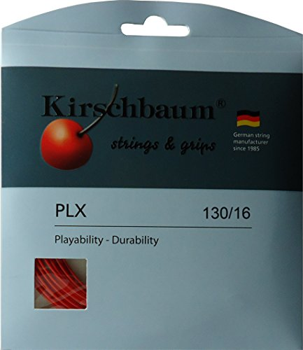 Kirschbaum Set Pro Line X Tennis String, 1.30mm/16-Gauge, Cherry Red