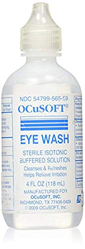 (Ocusoft eye wash irrigating solution sterile isotonic buffered 4oz)