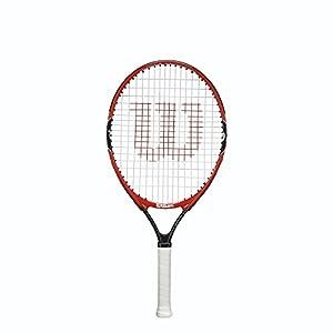 Wilson Kinder Schläger Federer Roger RKT, Rot/Grau, 23, 0887768298869