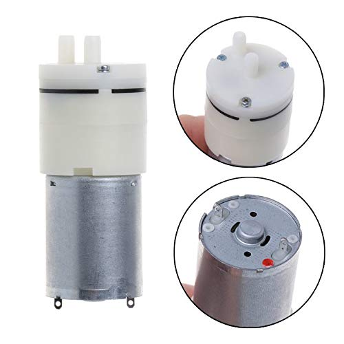 - DC 3V Micro 370B Air Pump Electric Vacuum Pump Mini Pumping Booster for Medical