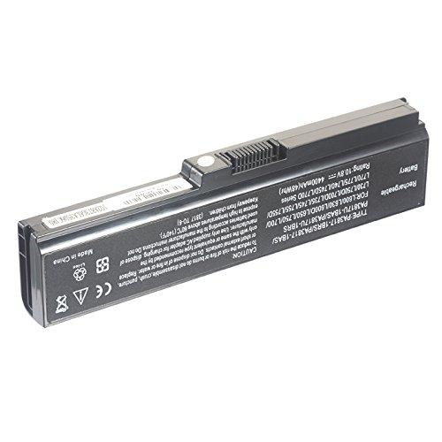 4400mAh 10.8V Laptop Battery for Toshiba Satellite C655-S5503 - Toshiba Laptop L655d