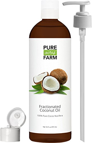 Fractionated Coconut Oil (Liquid) - Large 16oz