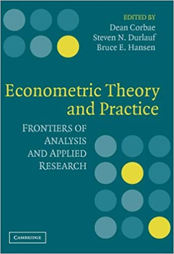 Econometric theory and practice frontiers of analysis and applied econometric theory and practice frontiers of analysis and applied research fandeluxe Gallery
