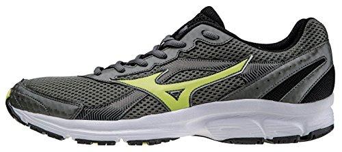 Mizuno Zapato Running Sneaker Hombre Crusader 9antracita Amarillo GREY/VERT