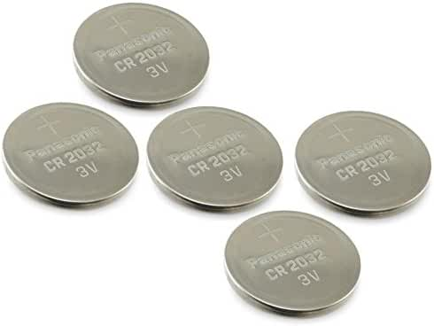 (4pcs PLUS ONE FREE BATTERY) PANASONIC Cr2032 3v Lithium Coin Cell Battery for Misfit Shine Sh0az Personal Physical Activity Monitor by A World of Deals®